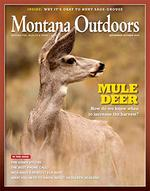 Montana Outdoors Magazine Cover