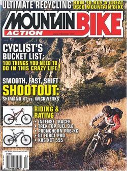 Mountain Bike Action Magazine Cover