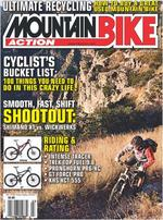 Mountain Bike Action Magazine Cover