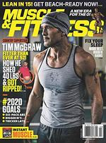 Muscle and Fitness Magazine Cover