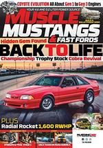 Muscle Mustangs and Fast Fords Magazine Cover