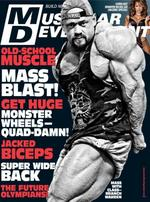 Muscular Development Magazine Cover