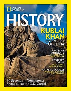 National Geographic History Magazine Cover