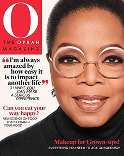 O, Oprah Magazine Cover