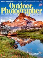 Outdoor Photographer Magazine Cover