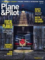 Plane and Pilot Magazine Cover