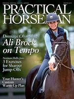 Practical Horseman Magazine Cover