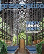 Preservation Magazine Cover