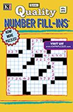 Quality Number Fill-Ins Magazine Cover