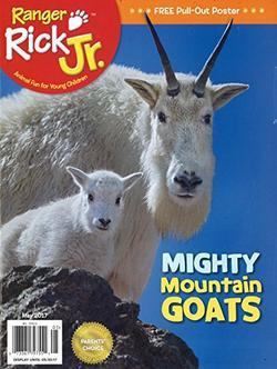 Ranger Rick Jr. Magazine Cover