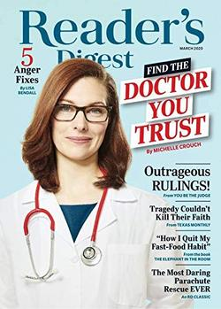 Reader's Digest Large Print Magazine Cover