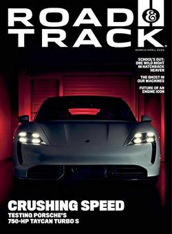 Road and Track Magazine Cover