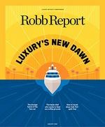 Robb Report Magazine Cover