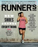 Runner's World Magazine Cover