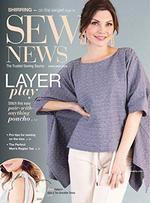 Sew News Magazine Cover