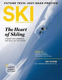 Ski Magazine Cover