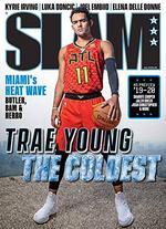 Slam Magazine Cover