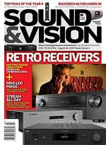 Sound and Vision Magazine Cover