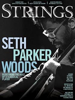 Strings Magazine Cover