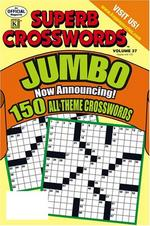 Superb Crosswords Jumbo Magazine Cover