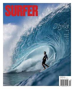 Surfer Magazine Cover