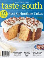 Taste of South Magazine Cover
