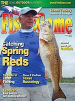 Texas Fish and Game Magazine Cover