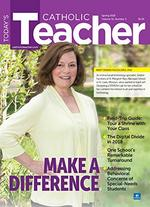 Todays Catholic Teacher Magazine Cover