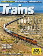 Trains Magazine Cover