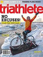 Triathlete Magazine Cover