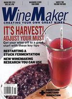 WineMaker Magazine Cover