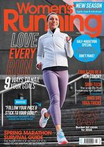 Womens Running Magazine Cover