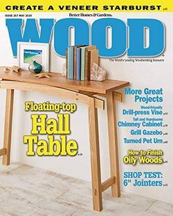 Wood Magazine Cover