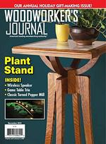 Woodworker's Journal Magazine Cover